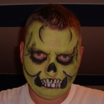 Scary Face Painting by CrazyFaces Face Painting Philadelphia PA