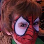 CrazyFaces Face Painting Spider Man Design Philadelphia PA