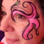 CrazyFaces Face Painting Eye Design Philadelphia PA