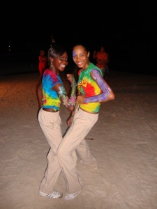 Arm Paint Sandals in Montego Bay Jamaica