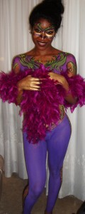 Body Paint for Mardi Gras Event Philadelphia