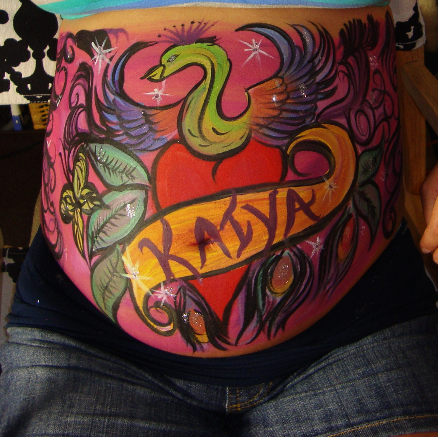 Pre-Natal Belly Painting Kaiya