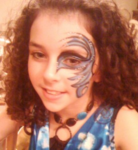 Eye Design Birthday Party Face Painting Delaware County PA
