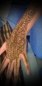 Henna Mehndi Hand Design