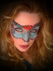 Mardi Gras Mask Face Painting Philadelphia PA