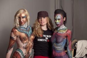 Body Painting Video Shoot Philadelphia PA