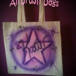 Airbrush Bag by Jennifer Montgomery Airbrush Artist Philadelphia PA