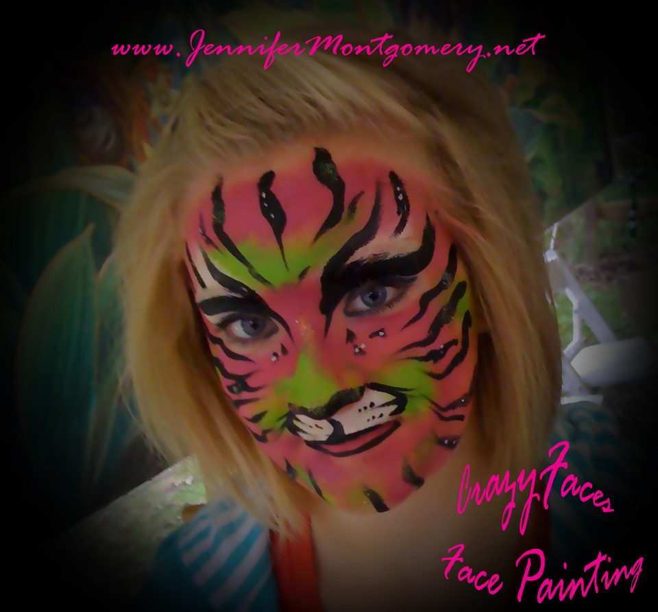 Face Painting Zoo Animals http://jennifermontgomery.net/blog/2011/09/18/face-painting-zoo-event/