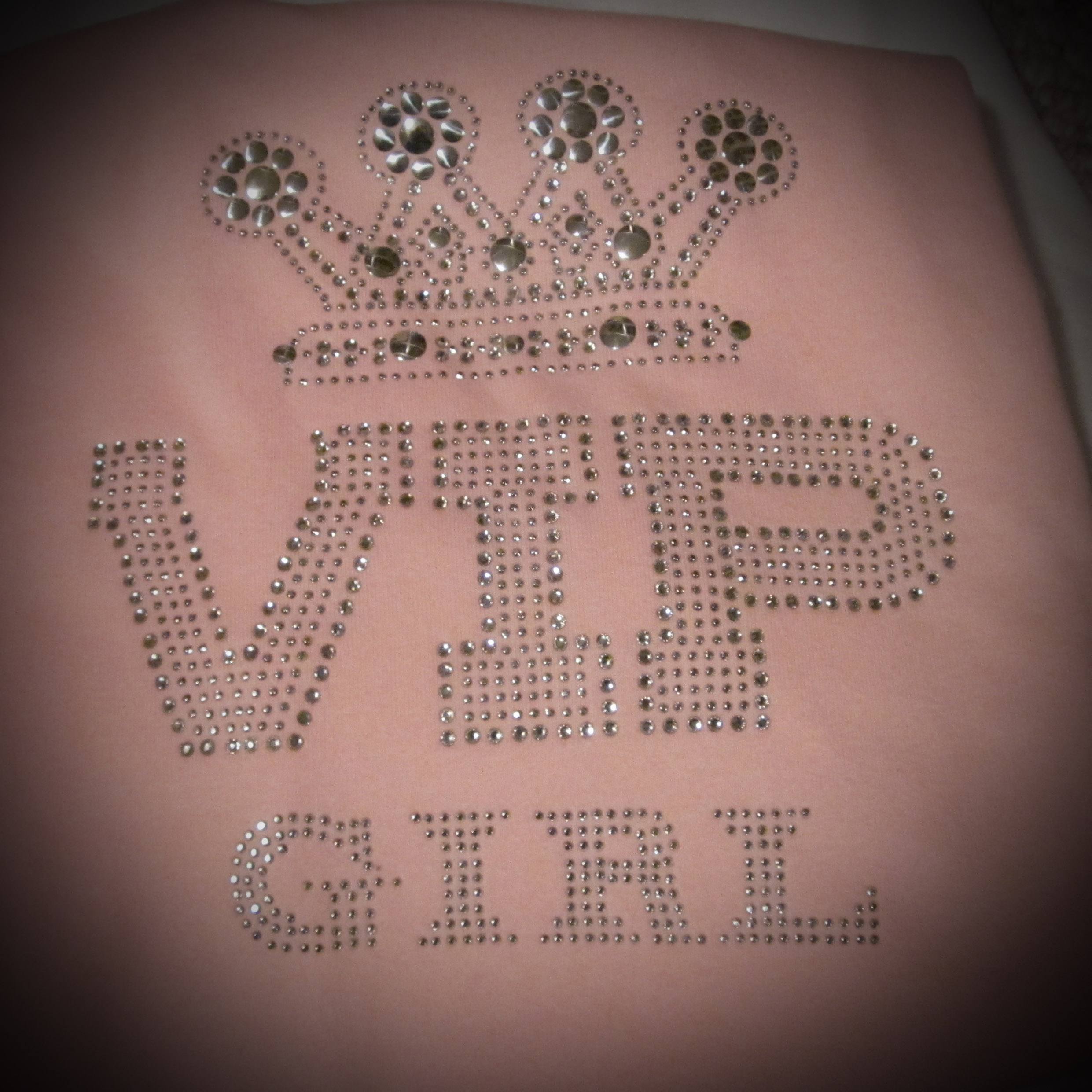 VIP Girl Rhinestone Shirt Philadelphia PA