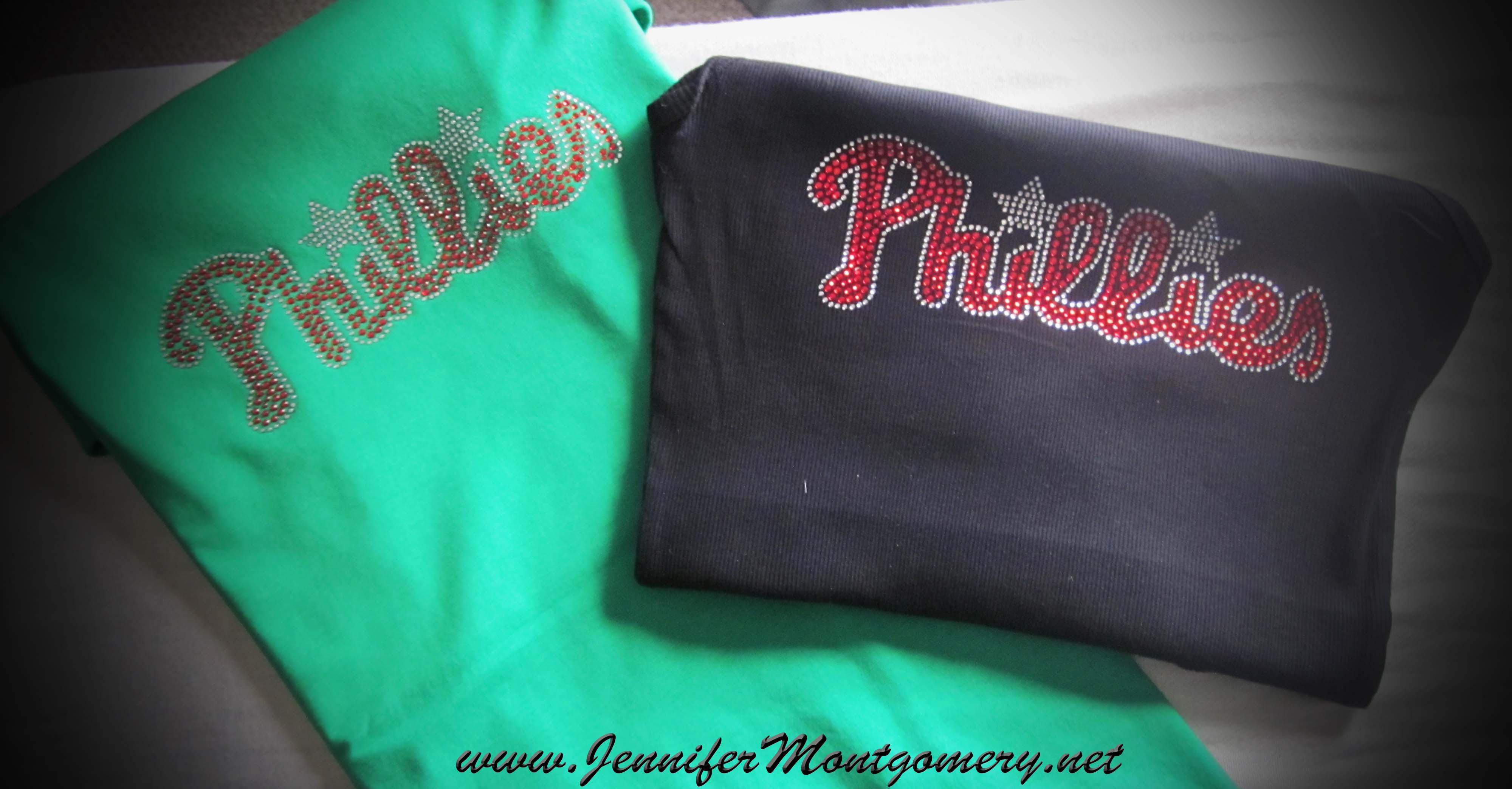 Philadelphia Phillies Rhinestone Shirts