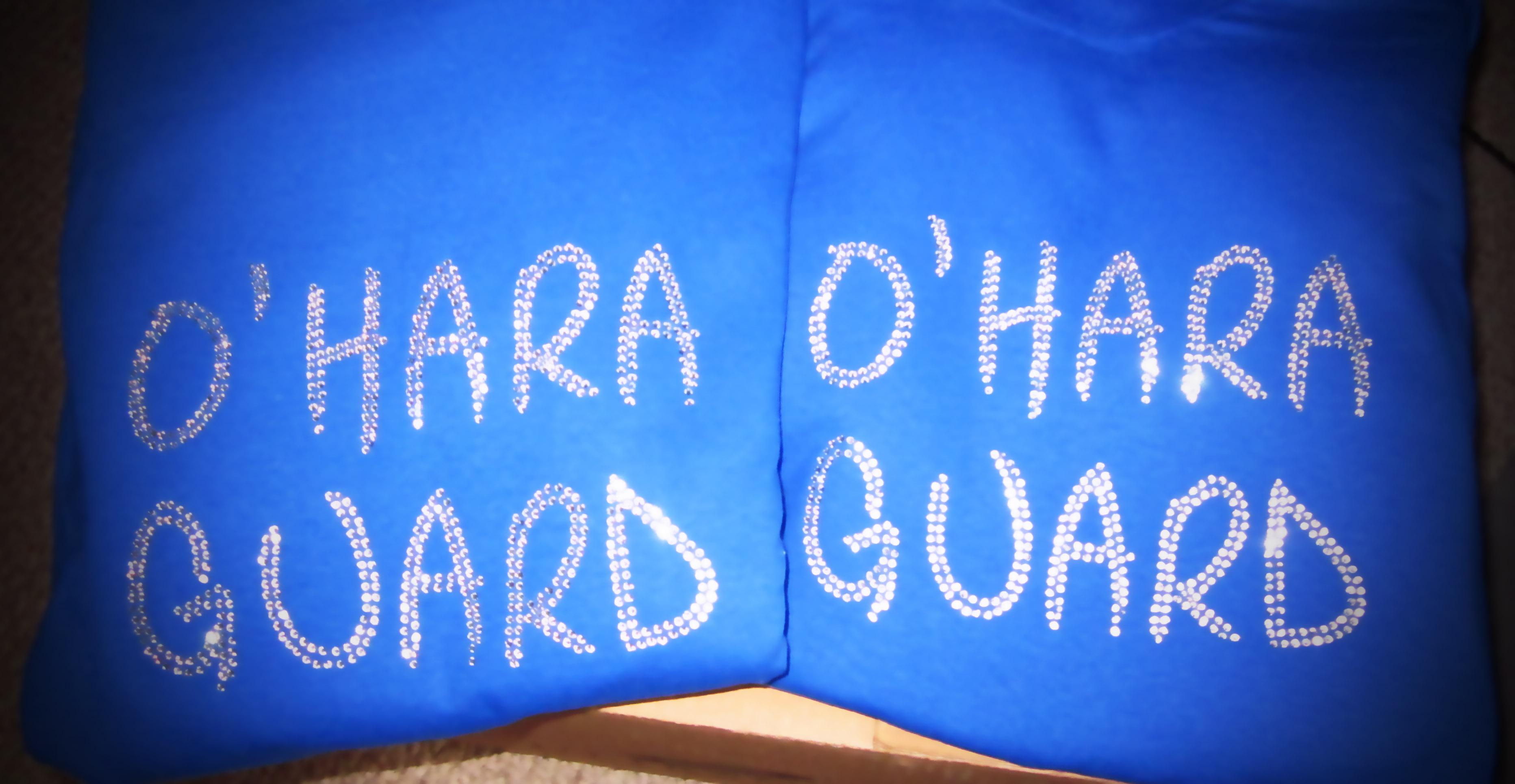 O'Hara Guard Rhinestone Shirts Delaware County PA