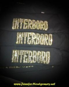 Interboro Bucs Rhinestone Shirts