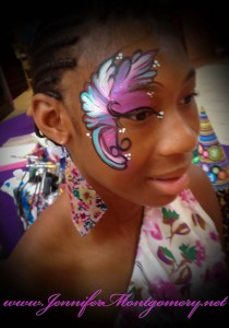 Eye Design Face Painting Philadelphia Kids Parties