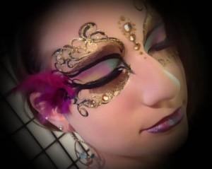 Glamour Face Painting/Extreme Make-up Philadelphia Photoshoot