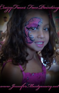 Girls Birthday Party Face Painting Swarthmore Delaware County PA