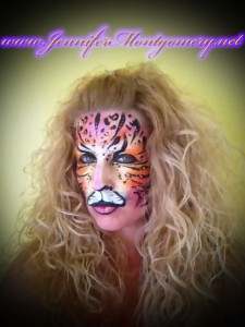 Fantasy Fest Face Painting Key West