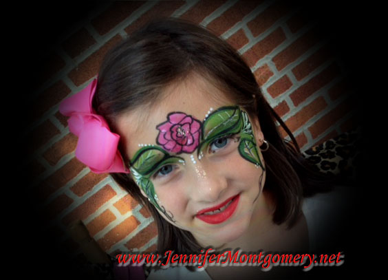 Girls Birthday Party Face Painting Delaware County Pa