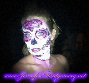 Sugar Skull Face Painting Key West