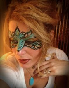 Face Paint Mardi Gras Mask Philadelphia PA