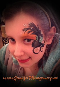 Face Painting Malvern PA Tropical Sunset Face Painting Design