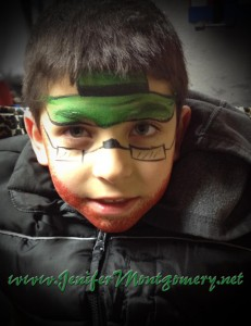 St. Patricks Day Leprechaun Face Painting Springfield PA Delaware County