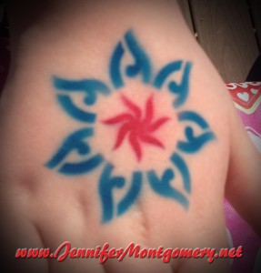 Airbrush Tattoo Bat Mitzvah Philadelphia PA