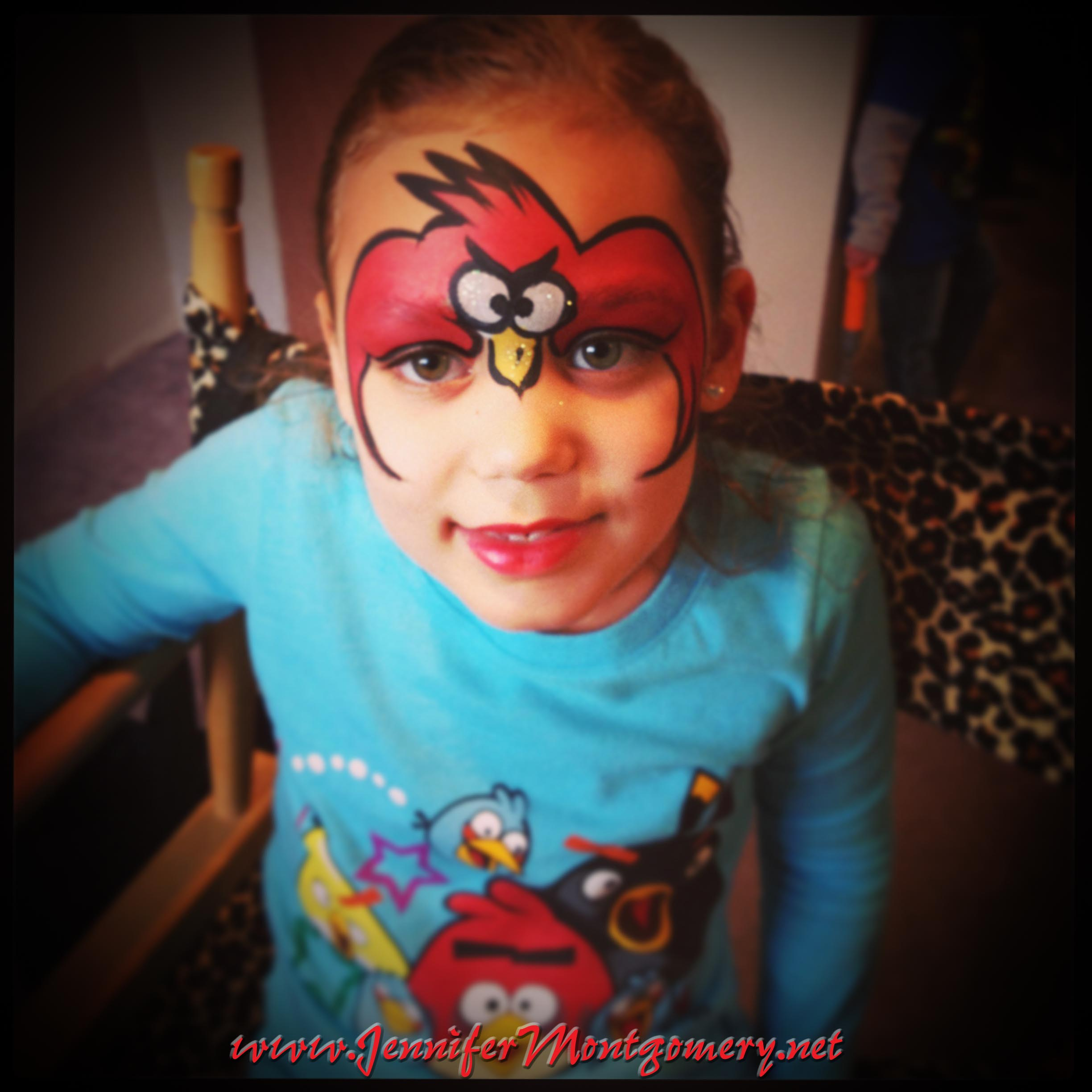 Angry Bird Face Painting Philadelphia PA Birthday Party ...