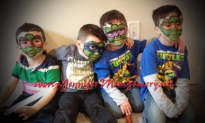 Ninja Turtles Face Painting Philadelphia PA Kids Birthday Party