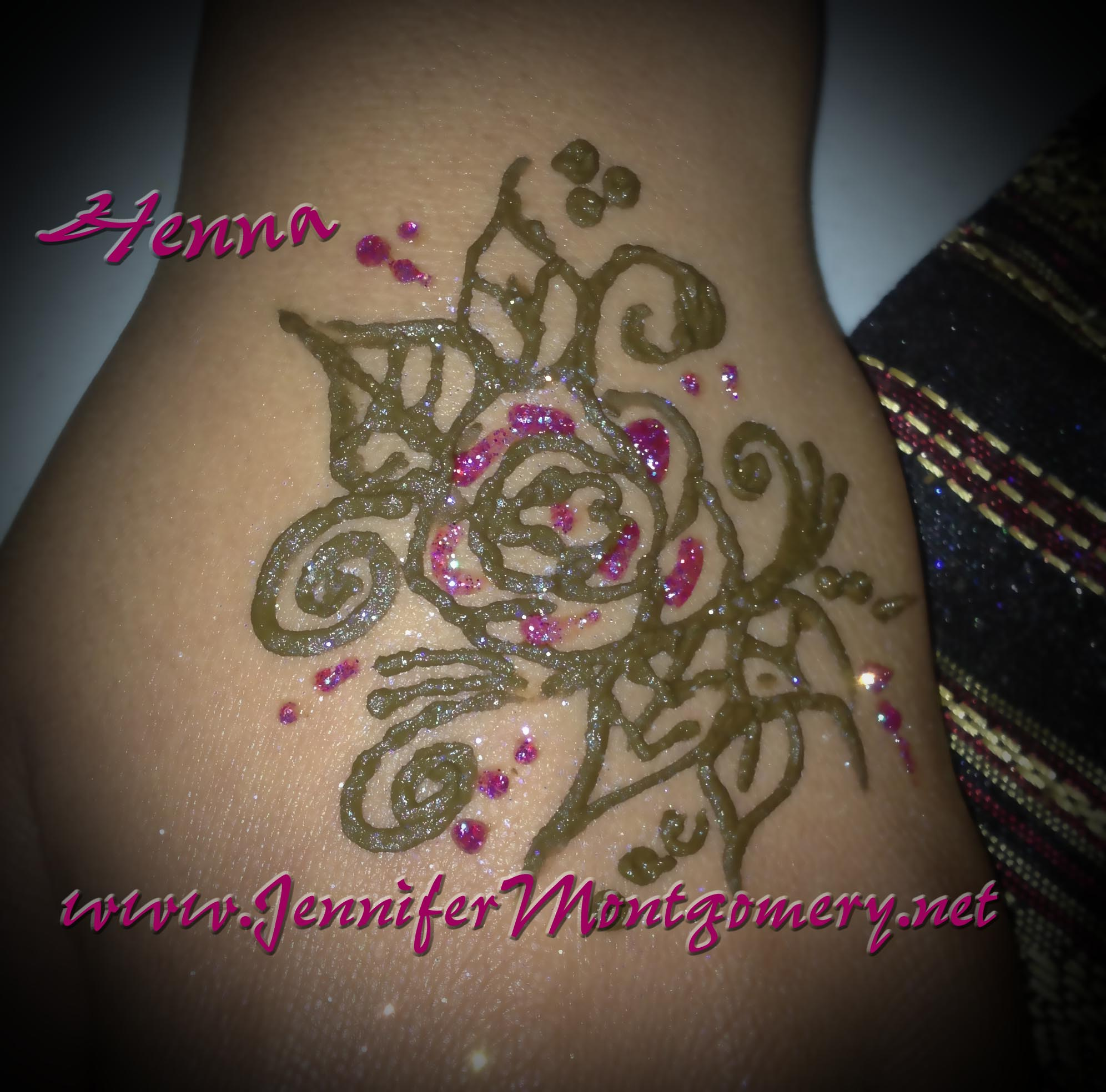 Henna rose tattoo crazyfaces face painting and body art for Rose henna tattoo