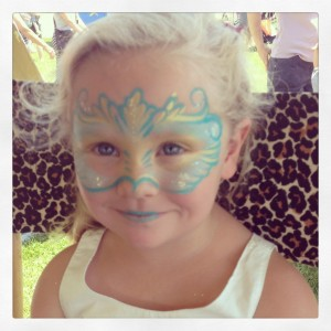 Flower Market Face Painting Wilmington Delaware