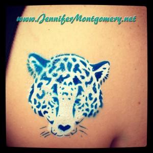 Flower Market Airbrush Tattoo Wilmington Delaware