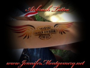 Harley Aribrush Tattoo Glenolden, Delaware County PA