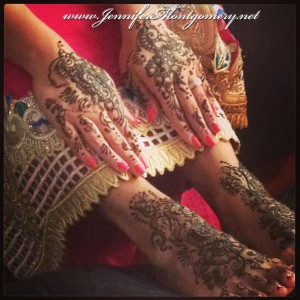 Bridal Henna Philadelphia PA and Key West Weddings Henna Artist Jennifer Montgomery