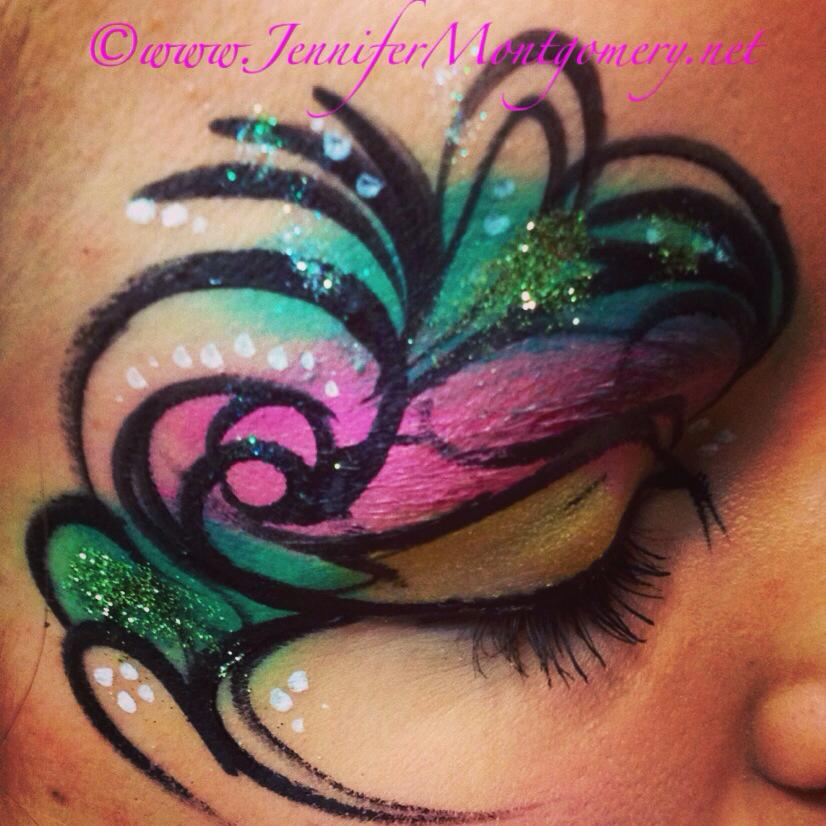 Henna Face Paint Designs Images