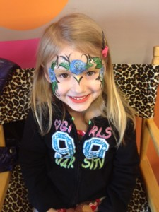 New Jersey Face Painting Roses
