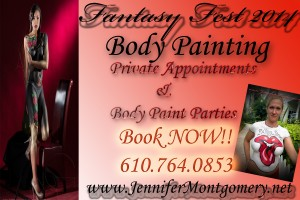 Fantasy Fest Body Painitng Key West Body Painter Jennifer Montgomery