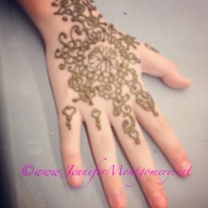 Henna Body Art Norwood PA by Henna Artist Jennifer Montgomery