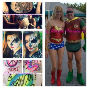 CrazyFaces Face Painting & Body Art Key West, Miami and Philadelphia PA