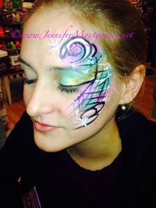 Key West Kids Birthday Party Face Painting by Jennifer Montgomery of CrazyFaces Face Painting