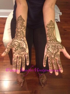 Bridal Henna Philadelphia PA and Key West FL by Henna Artist Jennifer Montgomery