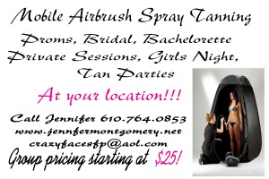 Airbrush Spray Tans Philadelphia PA Proms, Bridal, Tan Parties