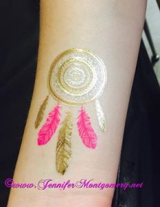 Post Prom Flash Tattoos Downingtown PA by CrazyFaces FacePainting Philadelphia PA
