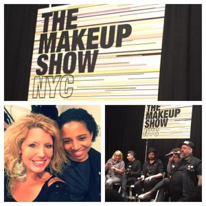 Jennifer Montgomery Philadelphia Make-Up Artist at The Make-Up Show New York City