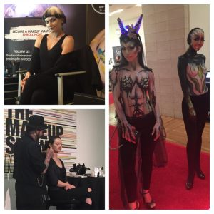 Make up and Body Painting at The Make-Up Show New York City