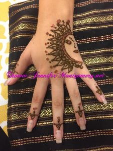 Sunshine Henna Hand New Jersey