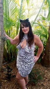 Zebra Body Paint Key West Fantasy Fest by Body Painter Jennifer Montgomery