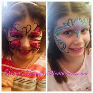 Easter Egg Hunt Face Painting Delaware County PA Face Painter CrazyFaces Face Painting