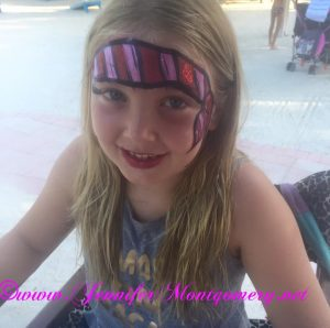 Florida Keys Face Painting Hawks Cay Resort by Key West Artist Jennifer Montgomery of CrazyFaces Face Painting and Body Art
