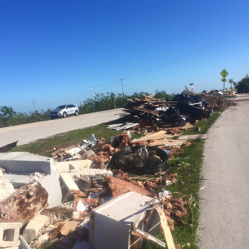 After Hurricane Irma Florida Keys Key West Artist