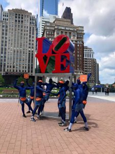 Philadelphia Body Painting Blue Love Arrested Development NetFlix